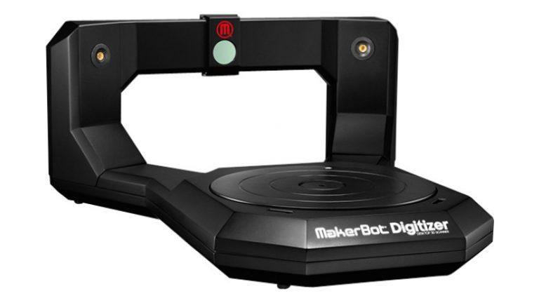 The Library's Makerbot Digitizer Desktop 3D Scanner