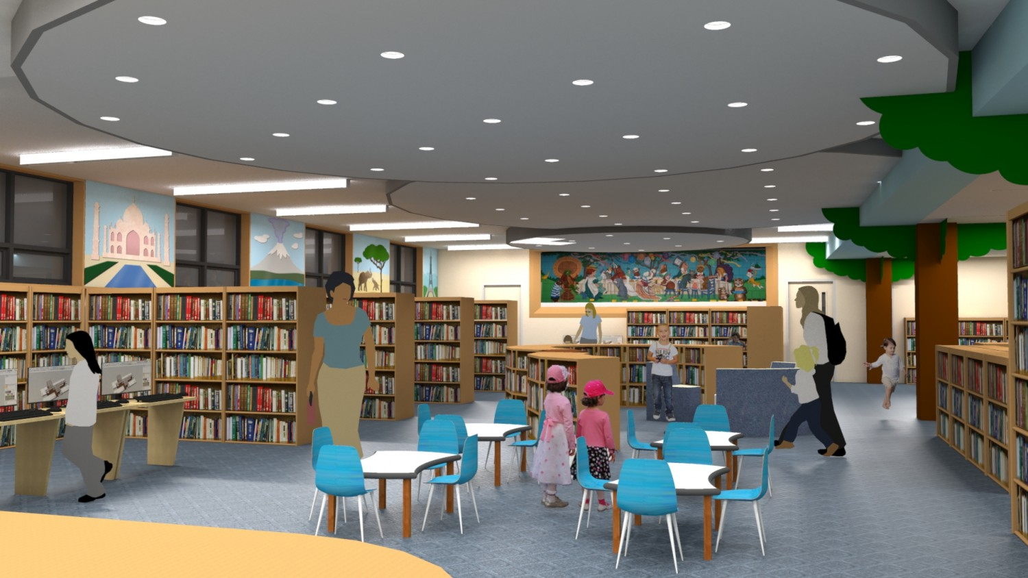 Rendering of future childrens' room